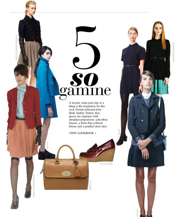108 best images about Gamine Chic on Pinterest