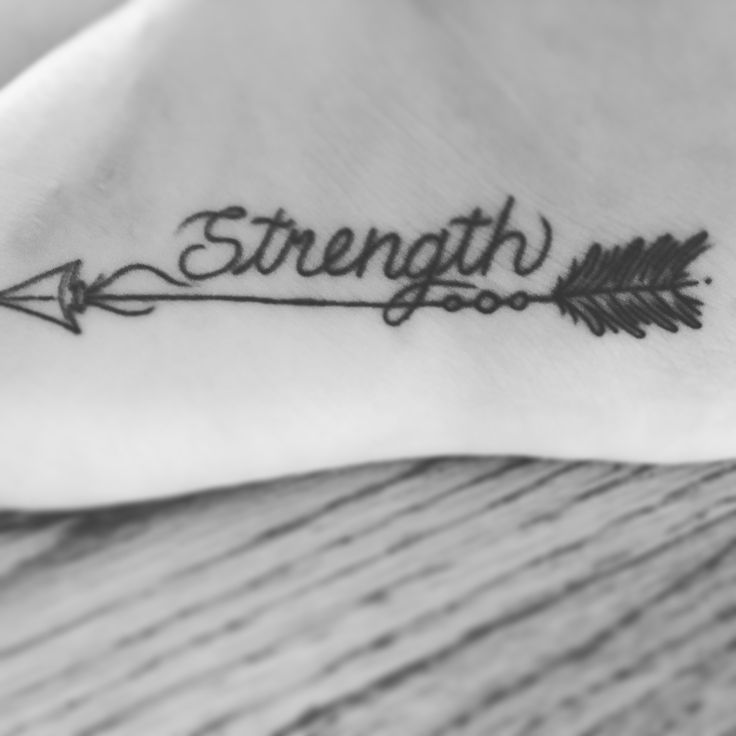 The arrow can only be shot forward by pulling it back... When life is pulling you back with difficulties it means it's going to launch you into something positive. And that journey takes strength