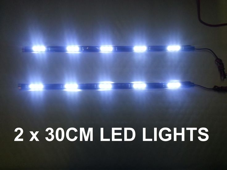 WHITE LED DAYTIME RUNNING LIGHT DRL AUDI A2 A3 TT A4 A6