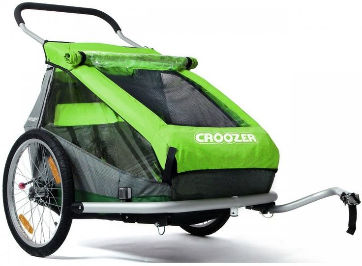 Croozer Kid for 2 green | MALL.PL