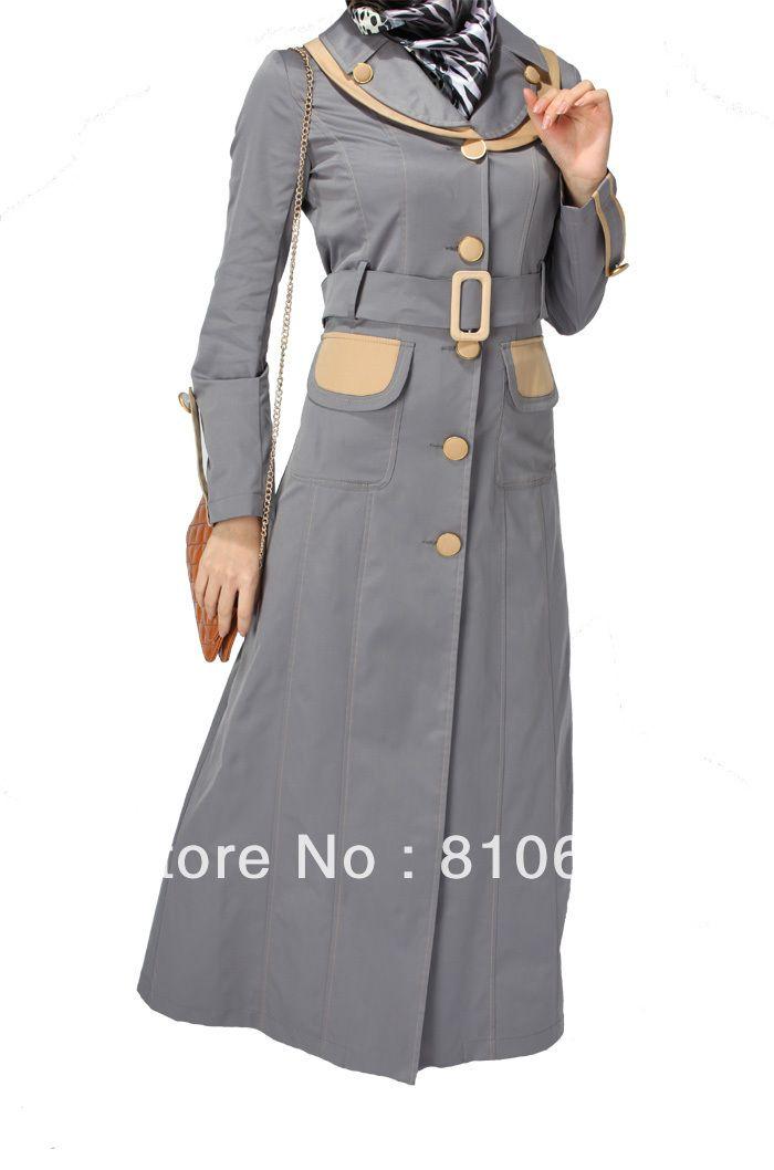 2 grey color Coat Abaya new collection