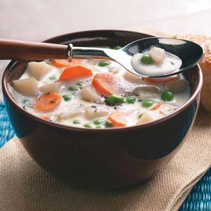 Veggie Potato Soup Recipe