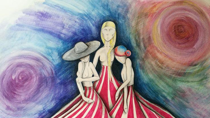 Elena Capodicasa BiHellen Artist Pastello su carta