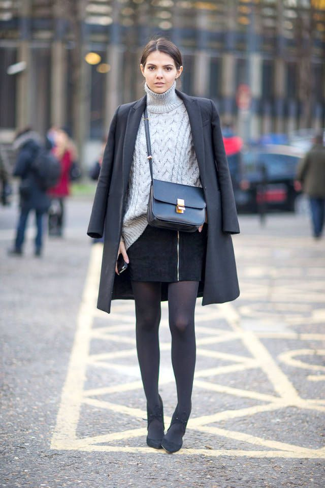 56 ways to look stylish while keeping warm this winter, as seen on the streets of London.