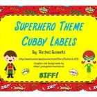 This set of Superhero theme cubby labels would go perfectly with my other Superhero themed items!  These labels don't have to just be used for cubb...
