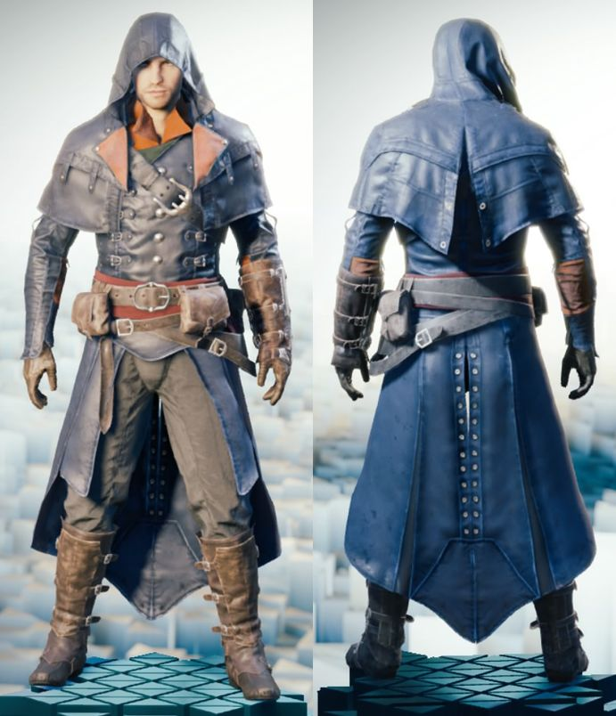 beautiful assassin's creed outfits unity boys