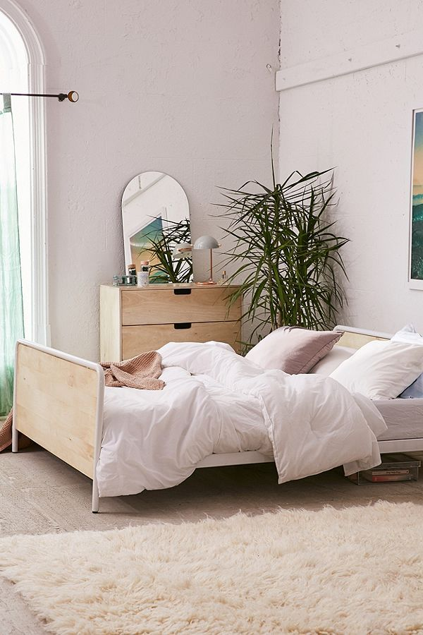 industrial bedroom furniture melbourne%0A Morris Bed Frame  Urban Outfitters FurnitureUrban Outfitters Bedding Industrial