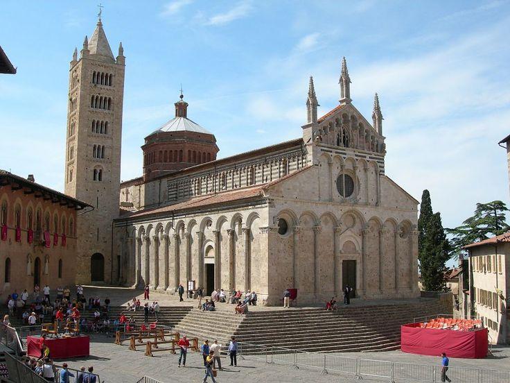 Massa Marittima Cathedral  http://www.charminly.com/massa-marittima-nestled-among-metal-bearing-hills/