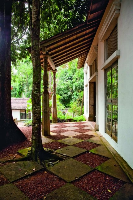 Au Sri Lanka, un jardin moderne et tropical
