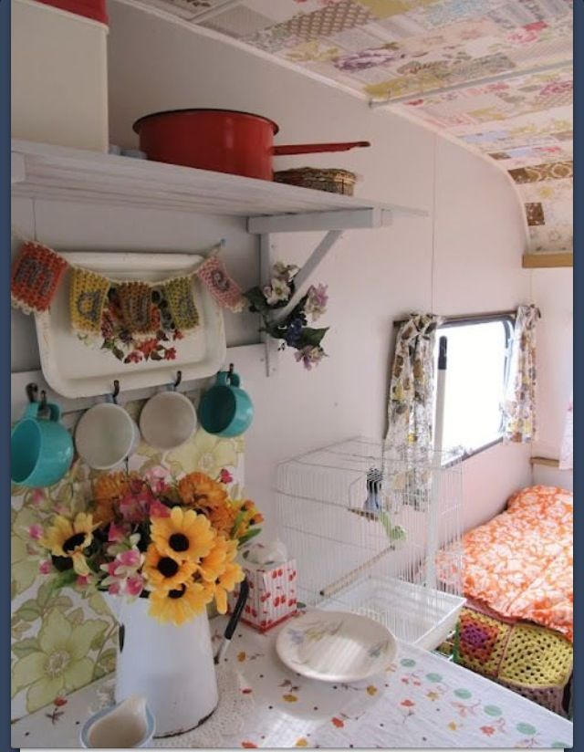 Cute caravan decor