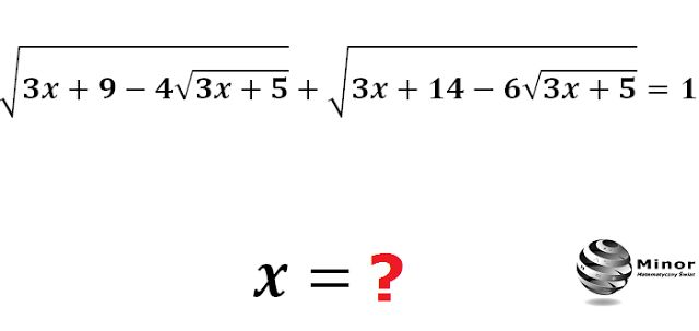 Solve the equation in the set of real numbers. How can I solve this?