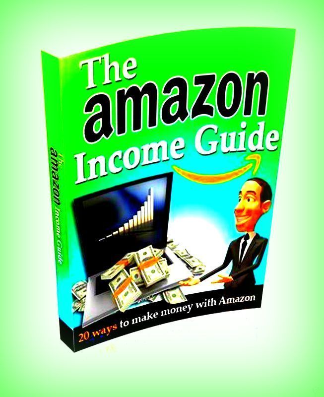 The Amazon Income Guide Power PDF-eBook With Master Resell Rights Free Shipping