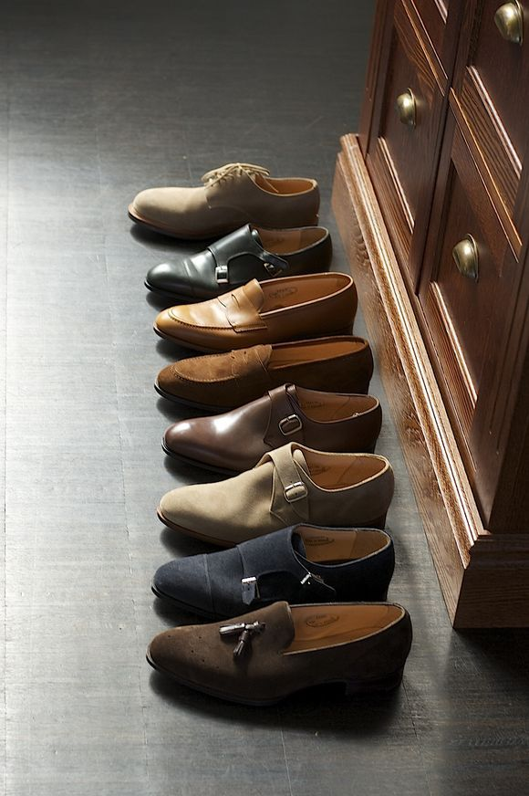 kleidsam:  Shoe porn made in England. downeastandout:  Alfred Sargent  I'm not obsessedddd with men's shoes, you're obsessed with men's shoes. #mensfashion