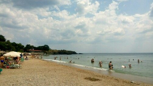 Alexandroupoli's beach