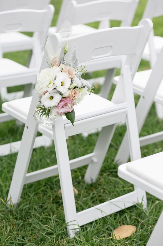 78 Best Images About Wedding Chair Flowers On Pinterest