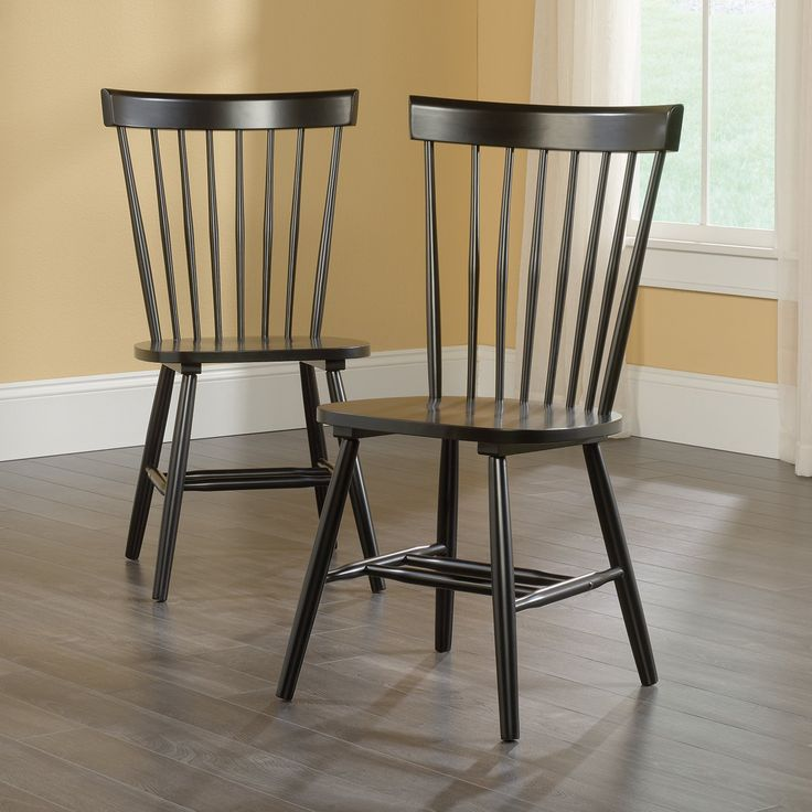 Sauder Woodworking New Grange Cottage Dining Chair - Set of 2 - A classic is a classic for a reason. The timeless look of the Sauder Woodworking New Grange Cottage Dining Chair- Set of 2 won't soon go out of...