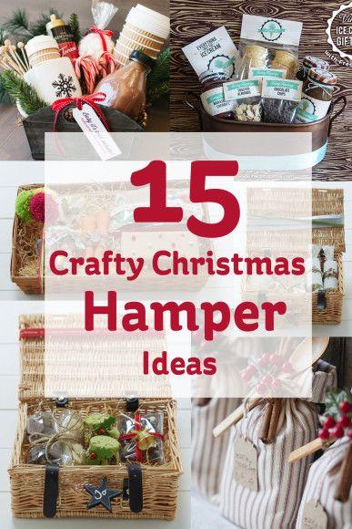 Marvelous 1000 Ideas About Christmas Hamper On Pinterest Christmas Easy Diy Christmas Decorations Tissureus