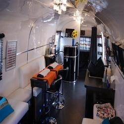Mobile Beauty Business Within An American Airstream For Sale