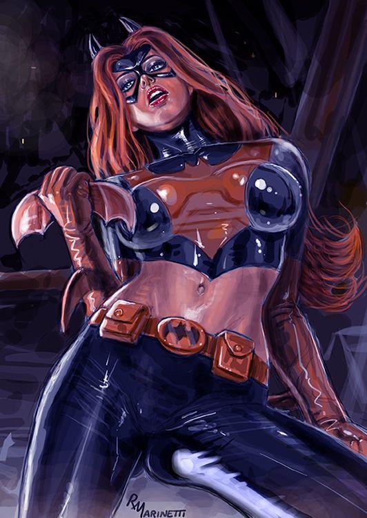 batgirl marvel nude