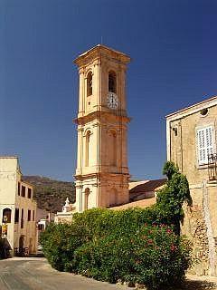 L'église baroque de Aregno