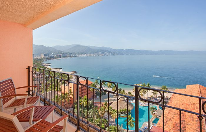 With spectacular views of Banderas Bay, Sunscape Puerto Vallarta's certified Clean Beach meets a high standard for cleanliness, quality of water, safety, sustainability, protection of wildlife and more.