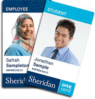 Sheridan OneCard Information