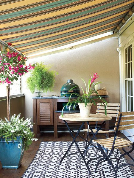 17 best images about outdoor living spaces on pinterest for Outdoor living spaces on a budget