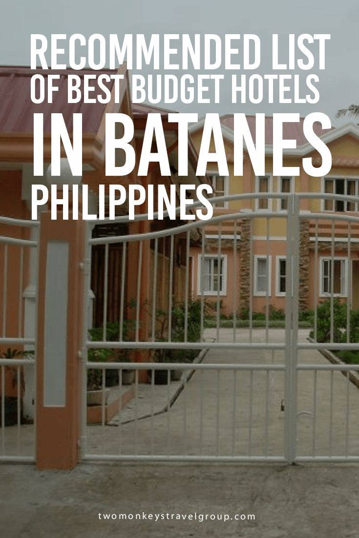 Recommended List of Best Budget Hotels in Batanes, Philippines Providing you the ultimate list of the BEST BUDGET HOTELS DAVAO CITY – includes rates, locations and great reviews that will definitely help you with your stay in Davao City.