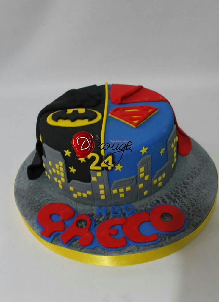 24 best Tortas Superheroes 100  Comestibles images on Pinterest