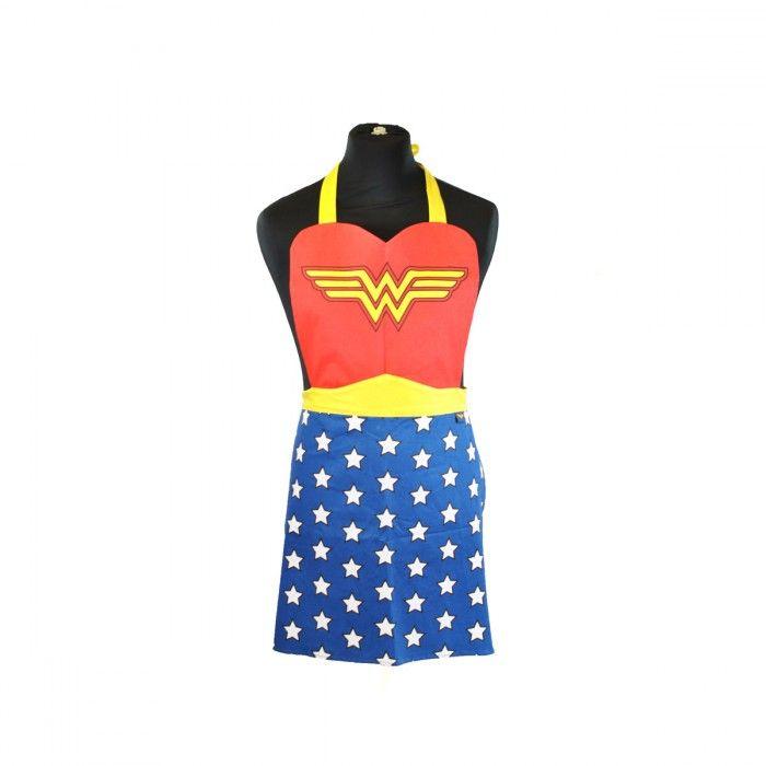 ★NEW : Tablier Wonder Woman ★ ► http://ow.ly/YAYgR  ◄ ✔ en stock / 19.90€