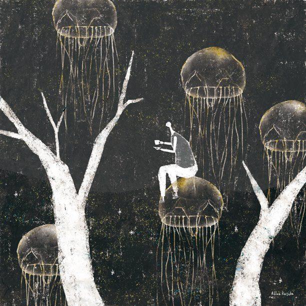 Акира Кусака внештатный иллюстратор / графический дизайнер. Живет в Осаке, Япония. Он создает иллюстрации к детским книгам, веб-дизайн и многое другое. http://akira-kusaka-illustration.tumblr.com/