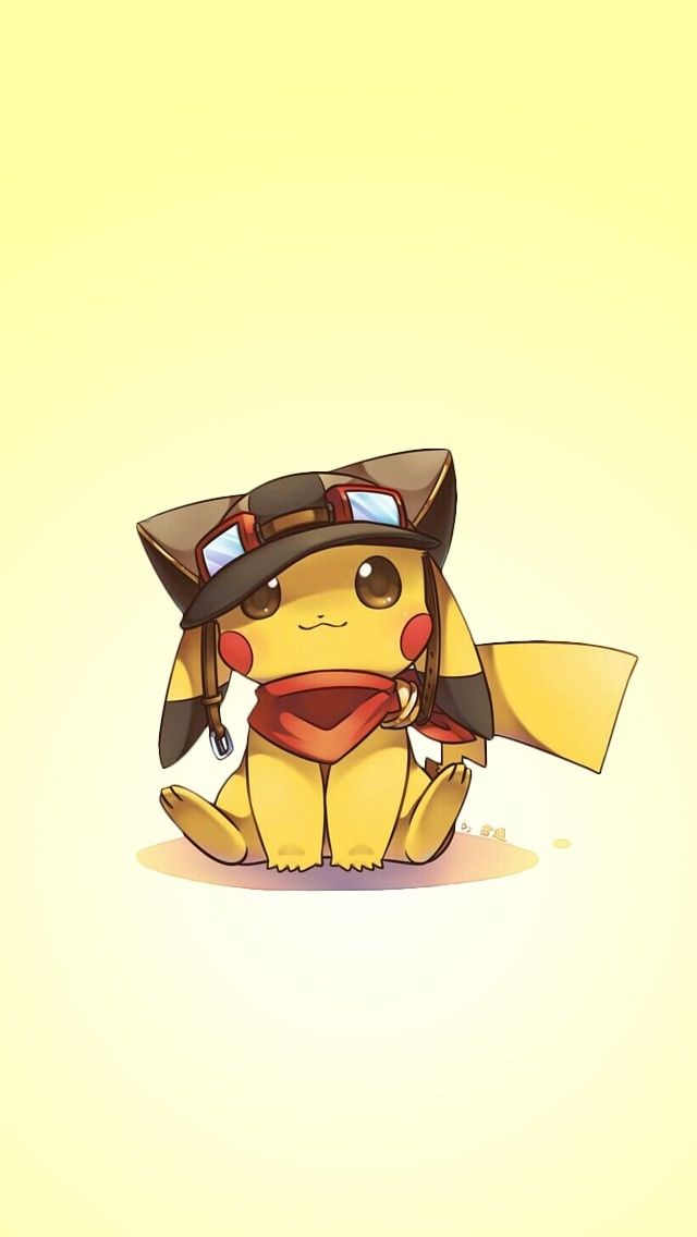 Cute Pikachu iPhone wallpapers @mobile9 | #chibi #kawaii