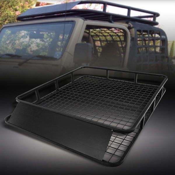 250lbs Universal Travel Roof Rack Cargo Heavy Duty Luggage Carrier Basket Holder