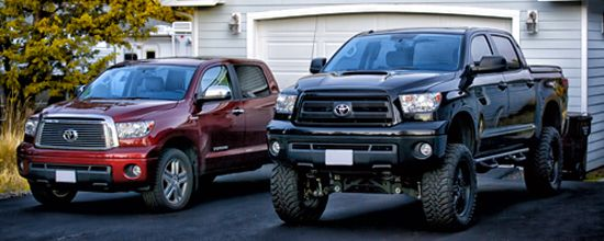 Toyota Tundra Lift Height Visual Guide Auto Pinterest