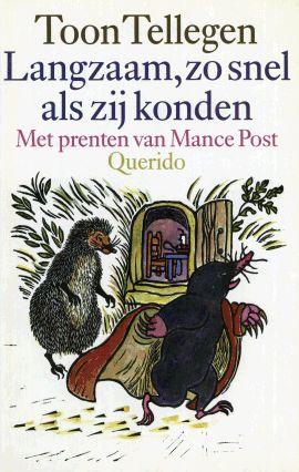 Toon Tellegen, een Nederlandse schrijver, arts en dichter die vooral bekend is om zijn kinderboeken. Vooral zijn dierenverhalen rond de mier en de eekhoorn zijn erg geliefd en worden ook door volwassenen graag gelezen vanwege de amusante, bizarre situaties en filosofische diepgang.
