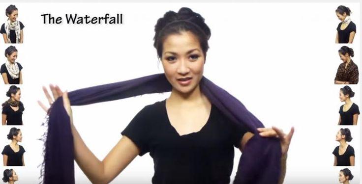 Wil jij je sjaal eens op een andere manier dragen, maar weet je niet goed hoe of wat? Laat je dan inspireren door dit filmpje. Zo kan je je favoriete sjaal op liefst 25 verschillende manieren dragen. Proberen (en oefenen) maar!