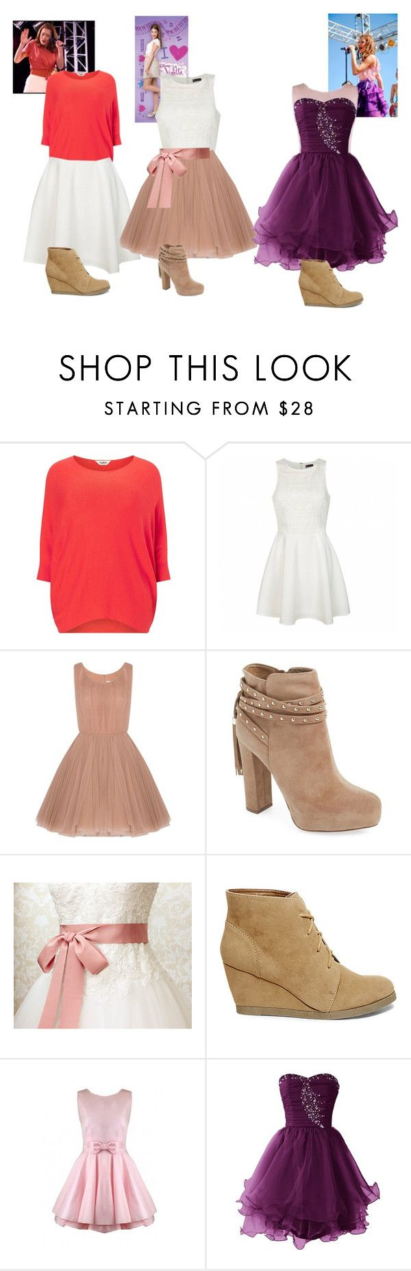 """Violetta 1"" by julia-clv ❤ liked on Polyvore featuring Studio 8, Ally Fashion, Lara Khoury, Jessica Simpson, Steve Madden, Jones + Jones, women's clothing, women, female and woman"