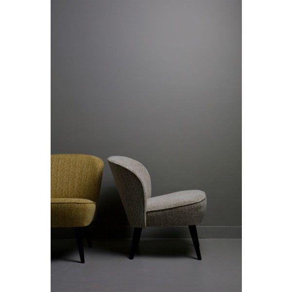 @madebyWoood  Suze fauteuil zit heerlijk  #katoen #hout #champagne #oker #groen #Suze  #fauteuil #stoel #relaxen #retro #designstoel #woood #design #Flinders