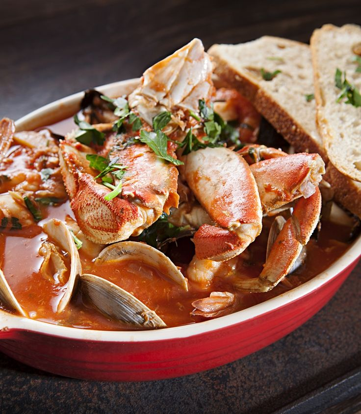 San Francisco Cioppino Nugget Style _ With: whole baby clams ...