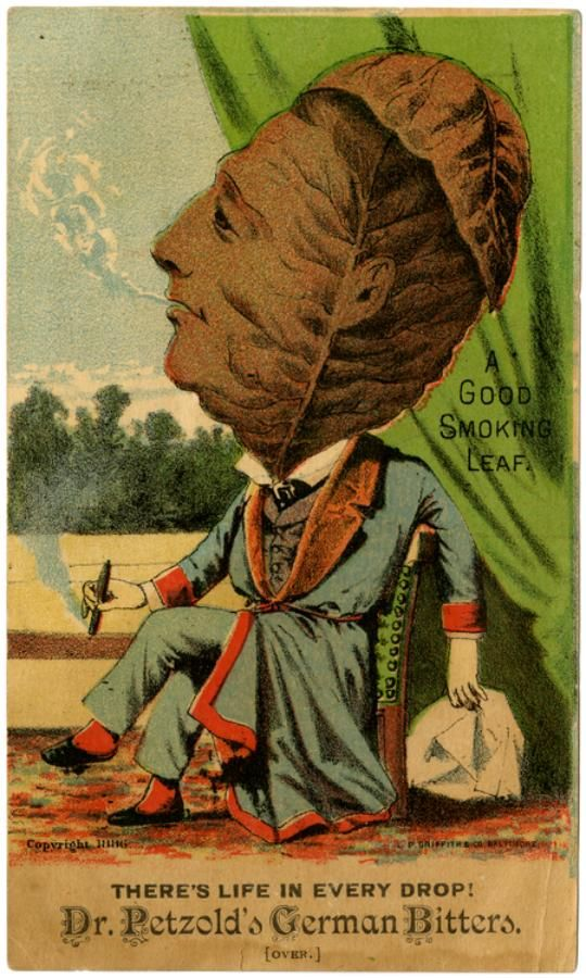 Patent Medicine Trade Cards, c.1900 Retronaut | Retronaut - See the past like you wouldn't believe.