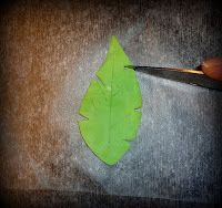 Sugarella Sweets: How to make a Fondant Palm tree leaf