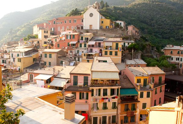 CINQUE TERRE,ITALY - via A House in the Hills