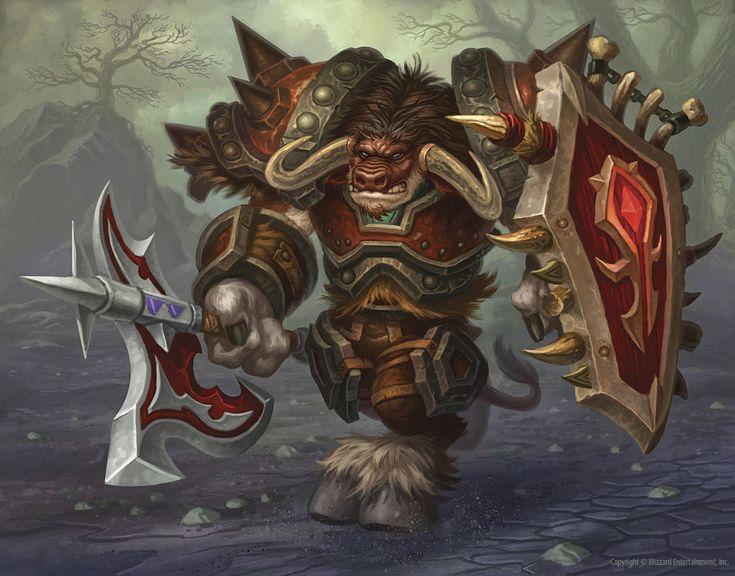 #wowtcg #warcraft #tauren #warrior #guerrier