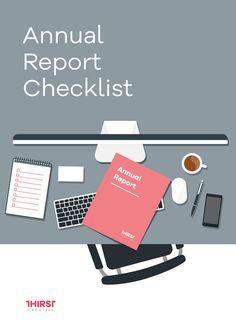 Anual Report Checklist