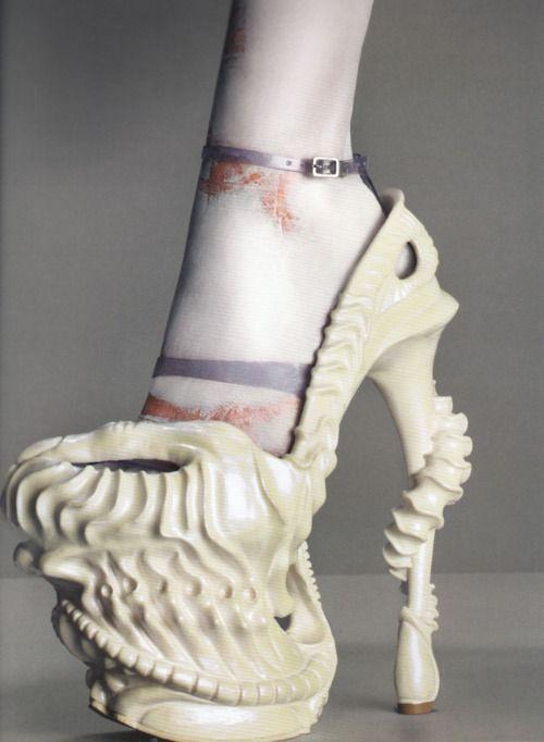 Chaussures improbables - Alexander McQueen