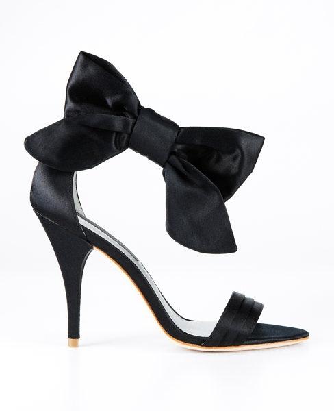 Jackie Bow Sandals - ann taylor#Anntaylor, Gorgeous Grace, Bow Sandals, Bows Heels, Black Shoes, Jackie Bows, Anne Taylors, Bows Sandals, Bows Shoes