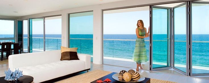 Folding Glass Walls : Google image result for http nanawall sites