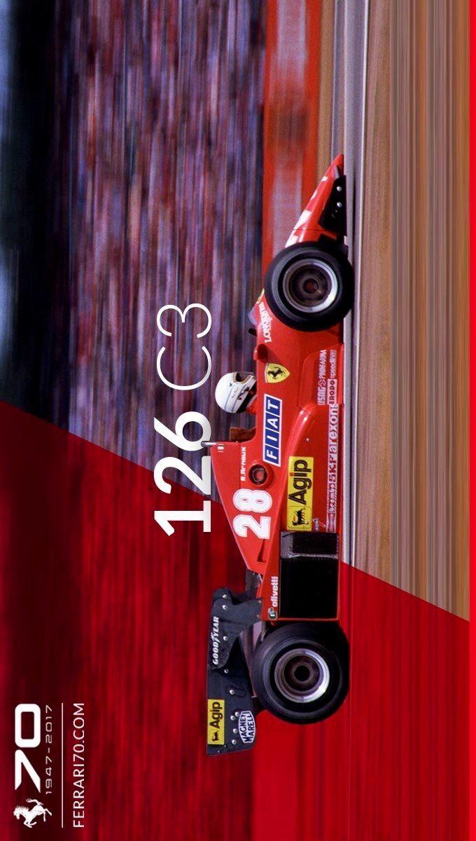 2017/6/30:Twitter: .@ScuderiaFerrari:Blast to the past with our 1983 126 C3. Discover more on the singleseater: 70.ferrari.com/en/garage/126-… #Ferrari70