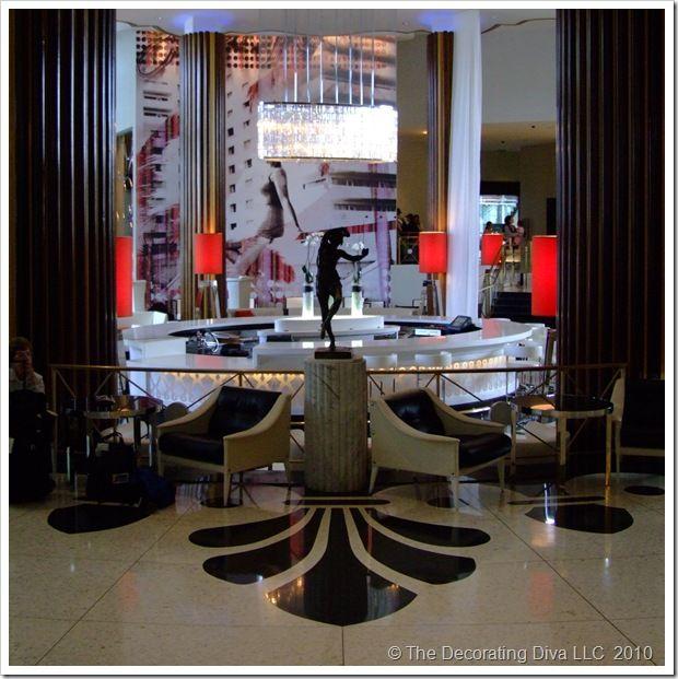 Art Deco Hollywood Glam Inspire Lobby Eden Roc Hotel