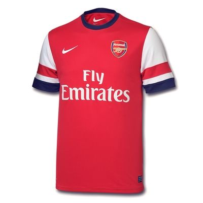 Adult 2012/14 S/S Home Shirt at Arsenal Direct